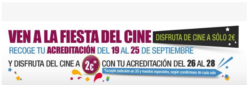 Diagonal Mar también celebra la Fiesta del cine