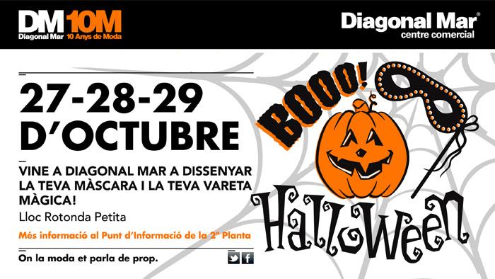 Taller de Halloween en Diagonal Mar