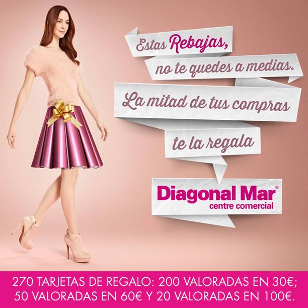 Promoción Rebajas 2014 de Diagonal Mar