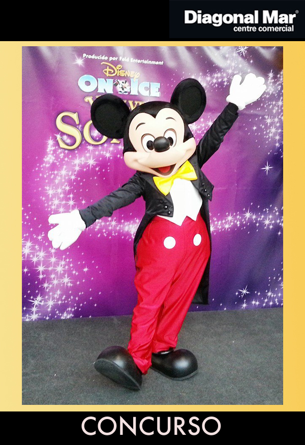 concurso disney on ice PADRES