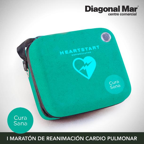 I Maratón de Reanimación Cardiopulmonar en Diagonal Mar