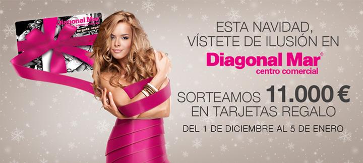 Promoción de navidad 2014 en Diagonal Mar