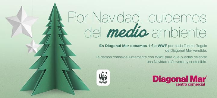 Colaboración con WWF  para la convrsación de bosques.