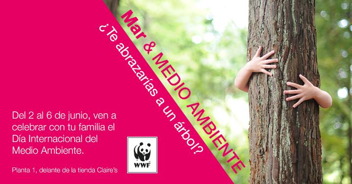 Día Internacional del Medioambiente con WWF España en Diagonal Mar