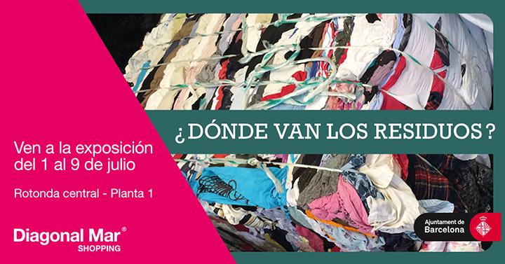 exposicion-residuos-diagonal-mar-barcelona