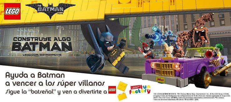 Lego Batman llega a Diagonal Mar