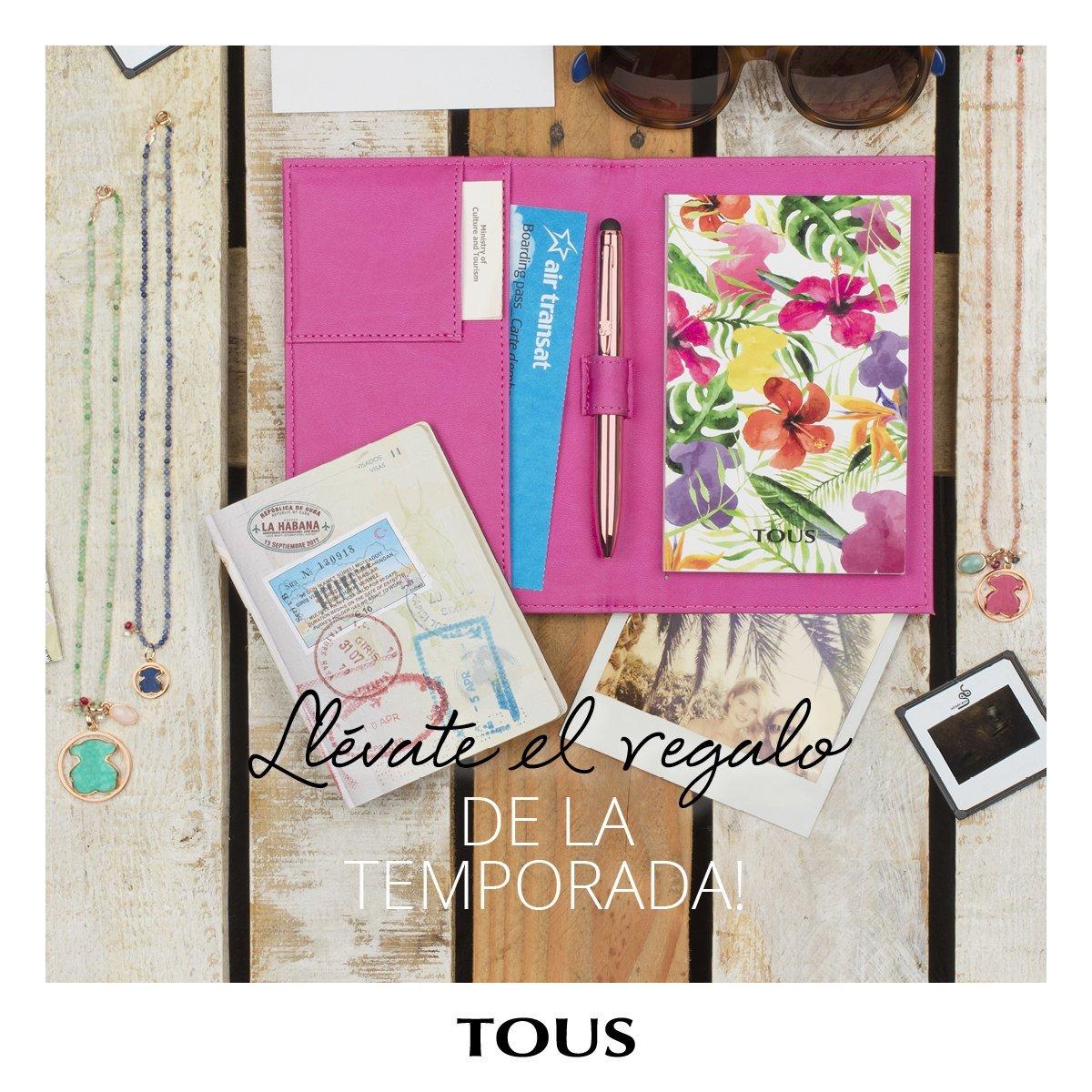 Esta primavera, te regalamos un exclusivo porta-documentos para #TOUSLovers