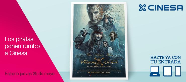 """""""Piratas del Caribe: La venganza de Salazar"""" en Cinesa Diagonal Mar Shopping"""