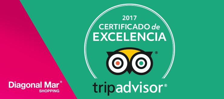 ¡Certificado de excelencia Tripadvisor 2017!