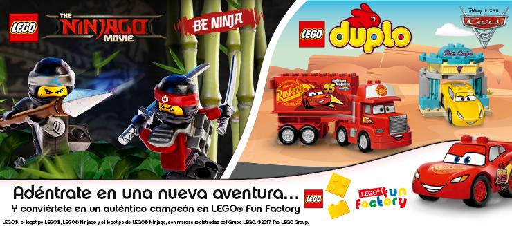 ¡Nueva temática Ninjago en Lego Fun Factory Diagonal Mar!