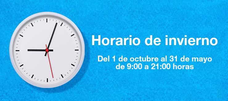 ¡HORARIO DE INVIERNO EN DIAGONAL MAR SHOPPING!
