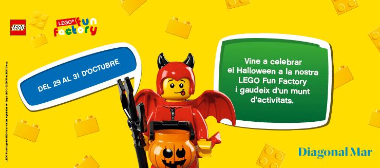 Vine a celebrar el Halloween a la nostra Lego Fun Factory