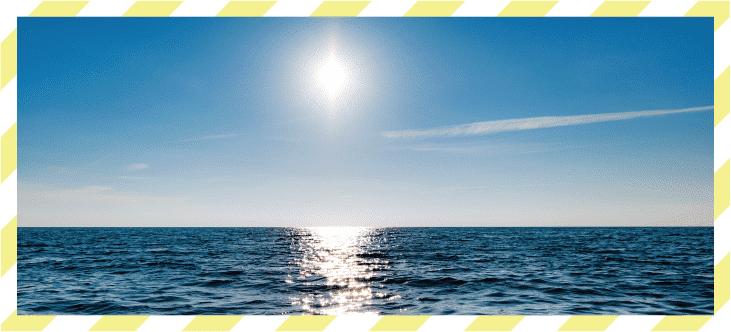 Más luz. Más mar.