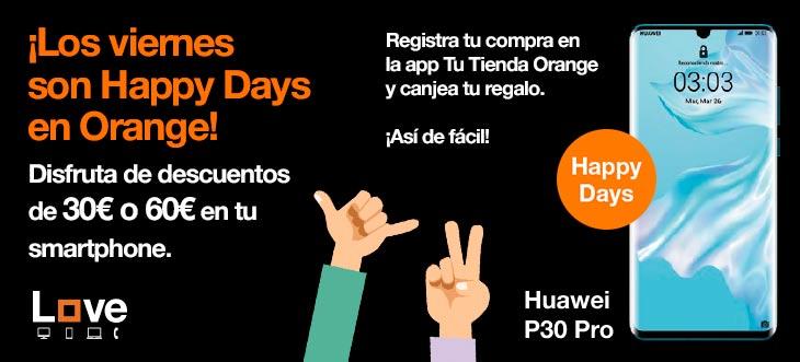 ¡Los viernes son Happy Days en Orange!