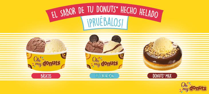 Nuevo helado con sabor a Donuts®