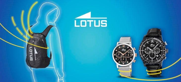 Take this backpack for the purchase of a lotus clock of € 129 or more