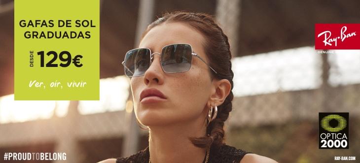 Gafas de sol ray ban graduadas desde 129€