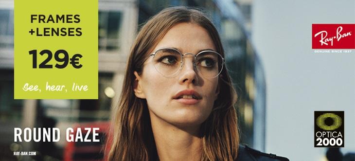 Frame + lenses Ray Ban 129€