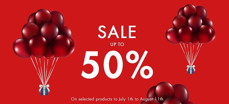 Swarovski sales up to 50%
