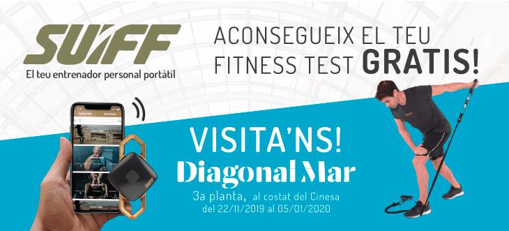 Aconsegueix el teu fitness test gratis!