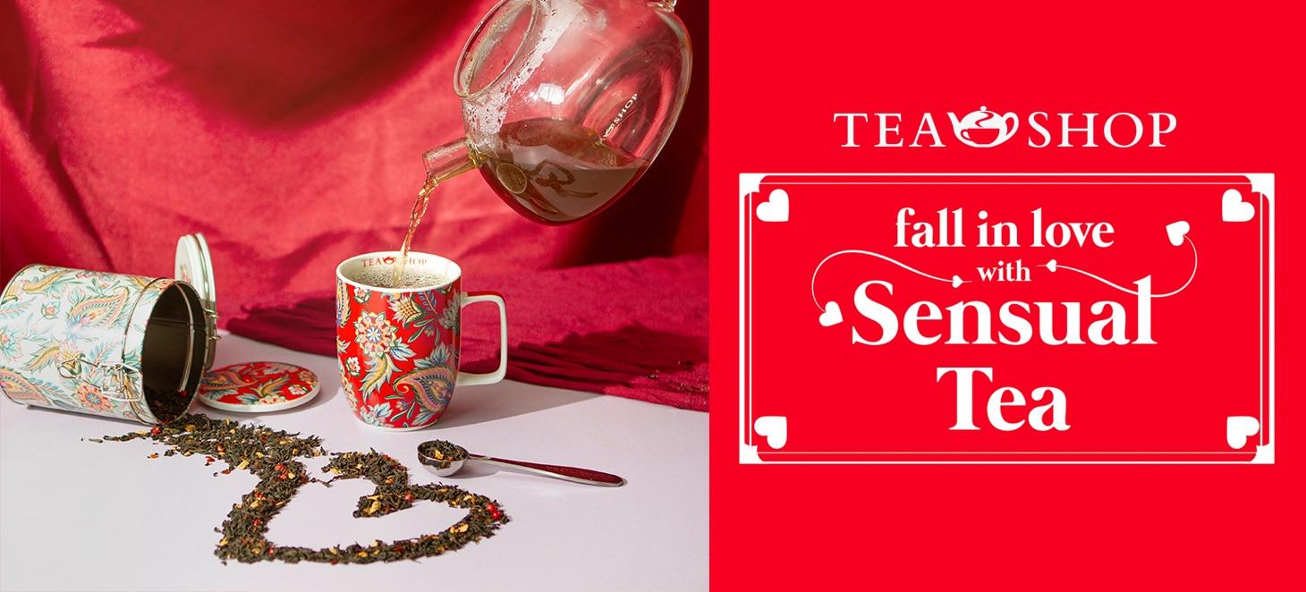 ¡Valentine arrives at Tea shop!