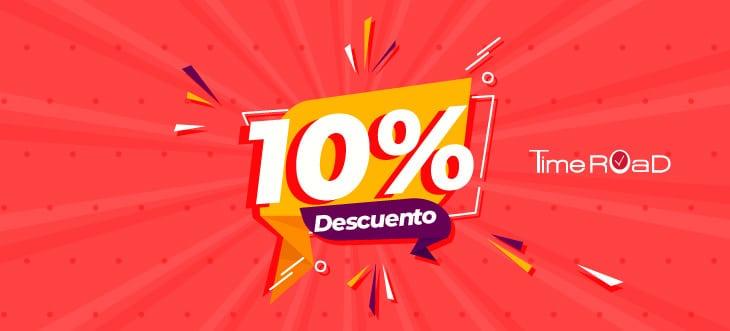 ¡Disfruta del 10% de descuento!