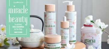 Tea Shop lanza su primera LÍNEA COSMÉTICA: Miracle Beauty