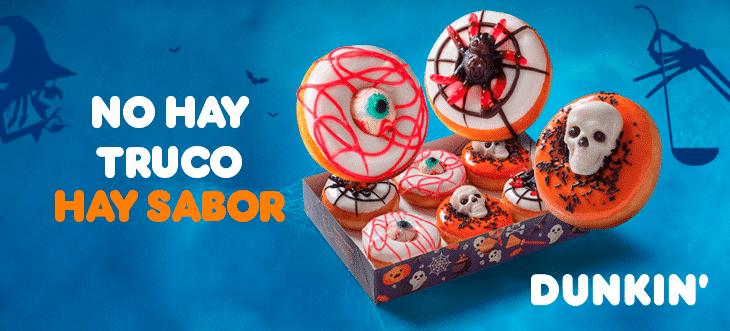 Halloween ha llegado para apoderarse nuestro Dunkin' más querido!