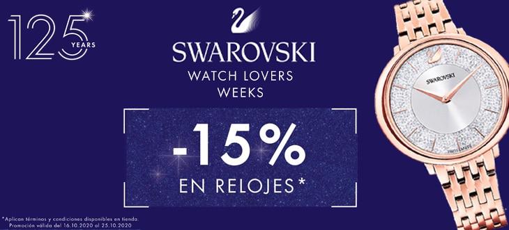 ¡LLEGA WATCH LOVERS WEEKS!