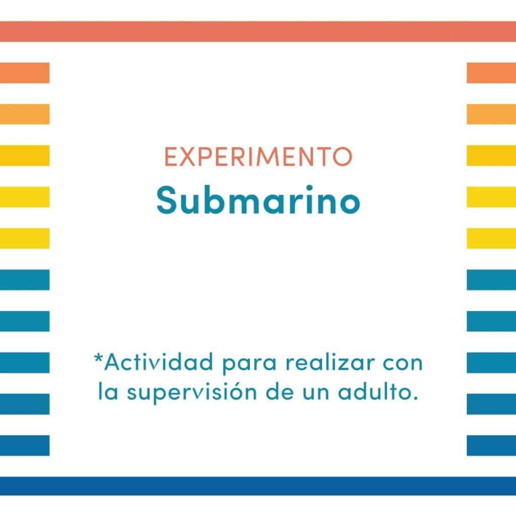 ¡Crea tu propio submarino!