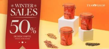 TEA SHOP WINTER SALES