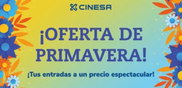 Hasta el 13 de mayo, tus entradas de cine ¡a un precio increible!
