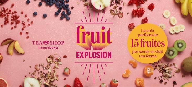 ¡Tea Shop lanza una nueva infusión, ¡Fruit Explosion!