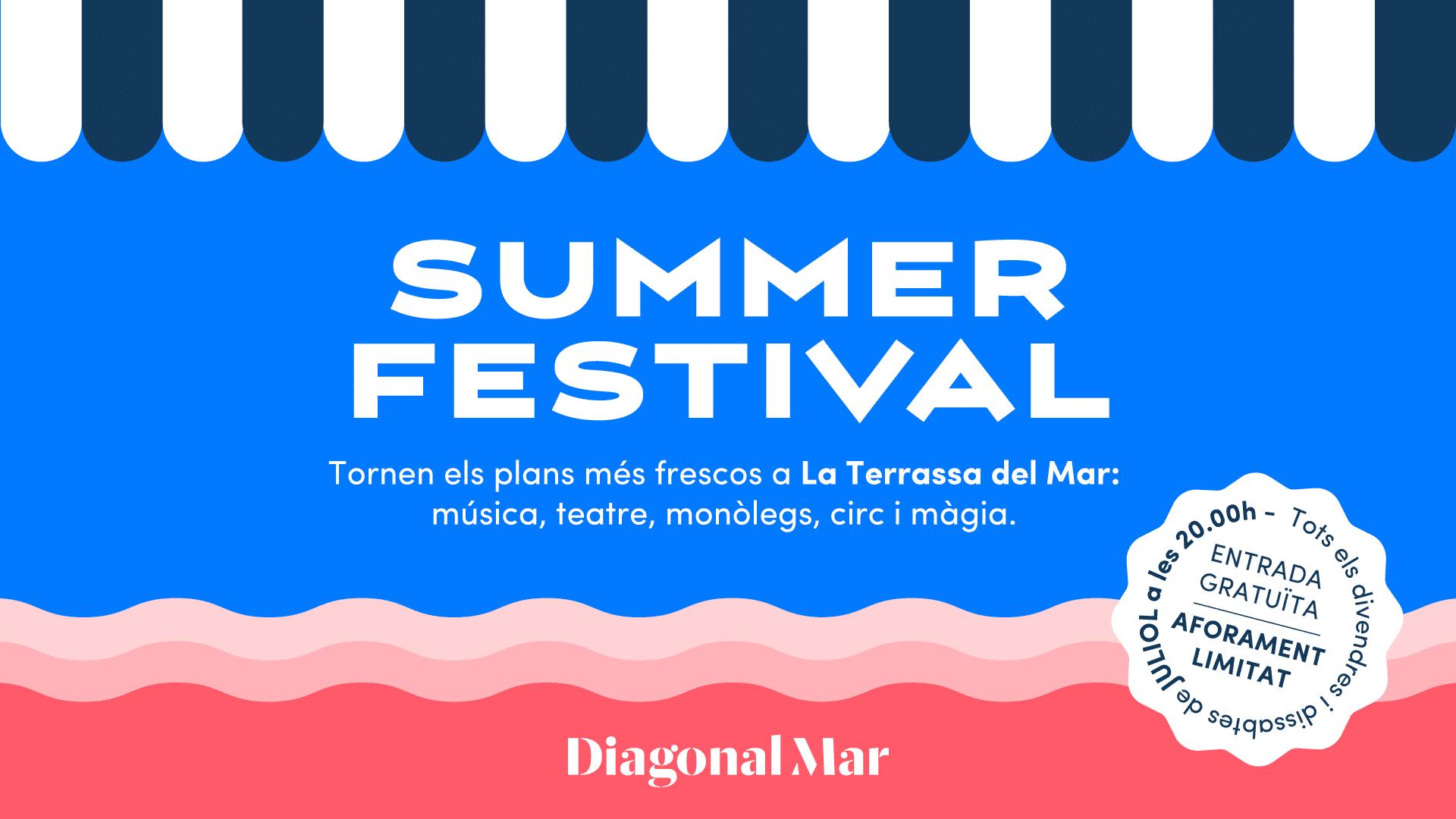 Summer Festival Diagonal cat