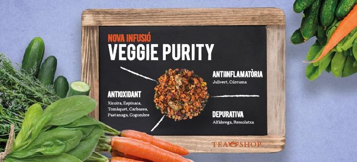 Tea Shop lanza la súper novedad de otoño, ¡Veggie Purity!